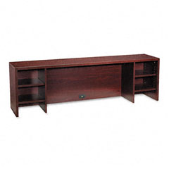 Hon - 10500 series stack-on pc organizer, 72w x 14-5/8d x 22h, mahogany, sold as 1 ea