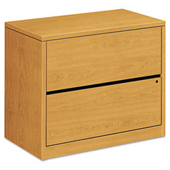 HON 10563CC 10500 Series Two-Drawer Lateral File, 36W X 20D X 29-1/2H, Harvest