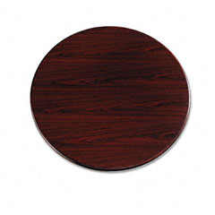 "HON 107242NN 10700 Series Round Table Top, 42"" Diameter, Mahogany"