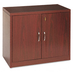HON 115291AFNN 11500 Series Valido Storage Cabinet With Doors, 36W X 20D X 29-1/2H, Mahogany