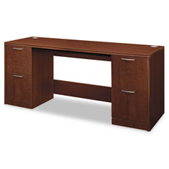 HON 11841FF Attune Series Credenza With Kneespace, 72W X 24D X 29-1/2H, Shaker Cherry