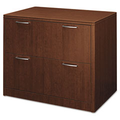 HON 118690FF Attune Series Lateral File, Two-Drawer, 36W X 24D X 29-1/2H, Shaker Cherry