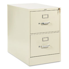 HON 212CPL 210 Series Two-Drawer, Full-Suspension File, Legal, 28-1/2D, Putty