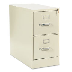 HON 212PL 210 Series Two-Drawer, Full-Suspension File, Letter, 28-1/2D, Putty