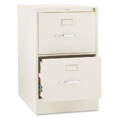 HON 312CPL 310 Series Two-Drawer, Full-Suspension File, Legal, 26-1/2D, Putty