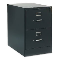 HON 312CPS 310 Series Two-Drawer, Full-Suspension File, Legal, 26-1/2D, Charcoal