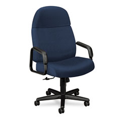 HON 3501NT90T 24-Hour Executive High-Back Swivel/Tilt Chair, Blue