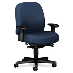 HON 3528NT90T 24-Hour Mid-Back Synchro-Tilt Task Chair, Blue