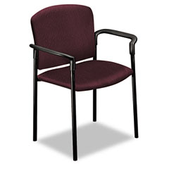 HON 4071NT69T Pagoda 4070 Series Stacking Arm Chairs, Wine, 2/Carton
