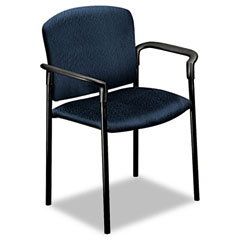 HON 4071NT90T Pagoda 4070 Series Stacking Arm Chairs, Mariner, 2/Carton