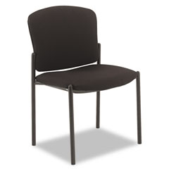 HON 4073NT10T Pagoda 4070 Series Stacking Chairs, Black Tectonic Fabric, 2/Carton