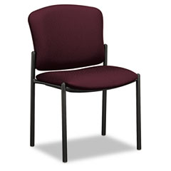 HON 4073NT69T Pagoda 4070 Series Stacking Chairs, Wine Fabric, 2/Carton