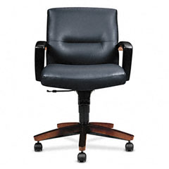 hon 5000 series executive high back swiveltilt chair black leather
