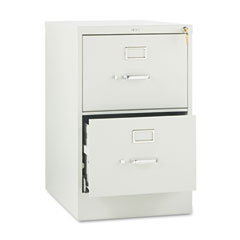 HON 512CPQ 510 Series Two-Drawer, Full-Suspension File, Legal, 29H X25D, Light Gray