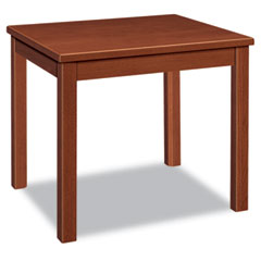 HON 5193JJ Reception Tables, Rectangular, 24W X 20D X 20H, Henna Cherry