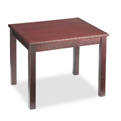 HON 5193NN Reception Tables, Rectangular, 24W X 20D X 20H, Mahogany