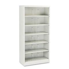 HON 626CNQ 600 Series Open Shelving, 6-Shelf, Steel, Legal, 36W X 16-3/4D X 75-7/8H, Gray