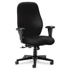Hon - 7800 series high-back executive/task chair, tectonic black, sold as 1 ea