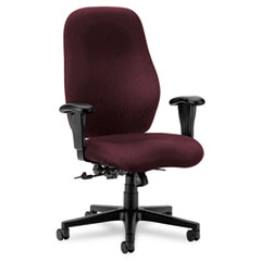 Hon - 7800 series high-back executive/task chair, tectonic wine, sold as 1 ea