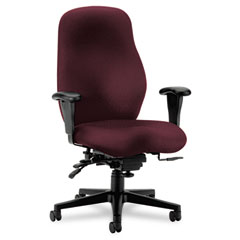 Hon - 7800 series high-performance high-back executive/task chair, tectonic wine, sold as 1 ea