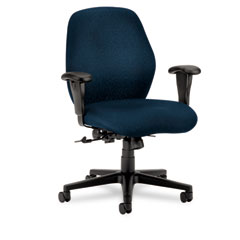 Hon - 7800 series mid-back task chair, tectonic mariner, sold as 1 ea