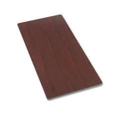 HON ESR3060TNN Rectangular Activity Table Top, 60W X 30D, Mahogany
