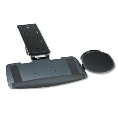 HON HKB900P Maestro Articulating Keyboard/Mouse Platform, Tray: 20-3/4W X 11D, Black