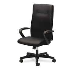 HON HONIEH1FHUNT10T Ignition Series Executive High-Back Chair, Black Fabric Upholstery