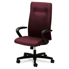 HON HONIEH1FHUNT69T Ignition Series Executive High-Back Chair, Wine Fabric Upholstery