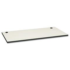 HON HONMT3060GGB9S Huddle Multipurpose Rectangular Top w/Grommets, 60w x 30d, Silver Mesh/Charcoal