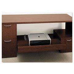 HON PSHELF1F Attune Under Credenza Storage W/Drawer/Shelf, 54W X 15-13/16D X 16H, Shaker Cy