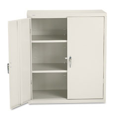 Hon - assembled storage cabinet, 36w x 18 1/4d x 41 3/4h, putty, sold as 1 ea