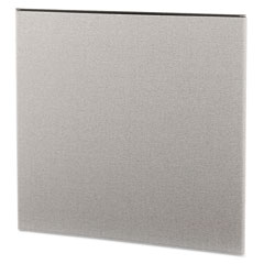 HON SP4243CE18 Simplicity Ii Systems Fabric Panel, 43W X 42H, Alumina Gray
