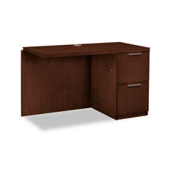 Hon - arrive right return for left pedestal desk, 48w x 24d x 29-1/2h, shaker cherry, sold as 1 ea