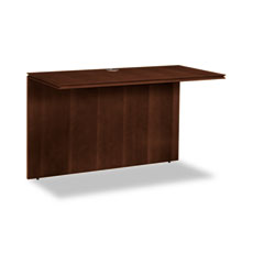 Hon - arrive wood veneer series bridge, 48w x 24d x 29-1/2h, shaker cherry, sold as 1 ea