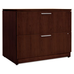 HON VW636XC1FF Arrive Wood Veneer Two-Drawer Lateral File, 36W X 24D X 29-1/2H, Shaker Cherry