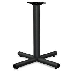 Hon - single column steel base, 26w x 26d x 27-7/8h, black, sold as 1 ea
