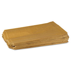 Hospital Specialty 260 Napkin Receptacle Liner, Kraft Waxed Paper, 500/Carton