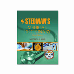 Houghton Mifflin H11041 Stedman'S Medical Dictionary, Hardcover, 2,030 Pages