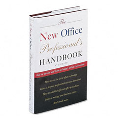 Houghton Mifflin H31027 New Office Professionals Handbook, Hardcover, 496 Pages