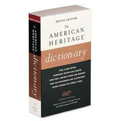 Houghton Mifflin H45071 American Heritage Office Edition Dictionary, Paperback, 960 Pages
