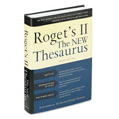 Houghton Mifflin H02033 Roget'S Ii: The New Thesaurus, Hardcover, 1,216 Pages