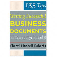Houghton Mifflin H61000 135 Tips For Successful Business Documents, Paperback, 208 Pages