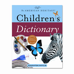 Houghton Mifflin 1060343 American Heritage Children'S Dictionary, Hardcover, 864 Pages