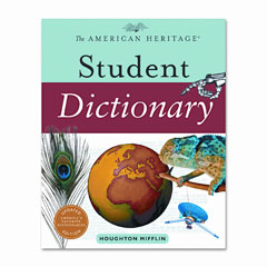Houghton Mifflin 1060784 American Heritage Student Dictionary, Hardcover, 1,088 Pages