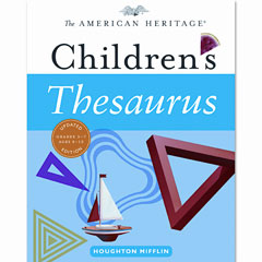 Houghton Mifflin 1060785 American Heritage Children'S Thesaurus, Hardcover, 288 Pages