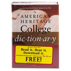 Houghton Mifflin HOU1100643 The American Heritage College Dictionary, Hardcover, 1,664 Pages