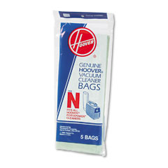 Hoover 4010038N Commercial Portapower Vacuum Cleaner Bags, 5/Pack