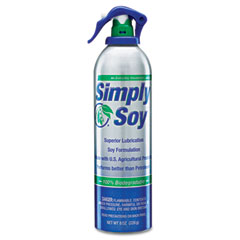 Nutek Simply Soy Lubricant Spray, 8-oz. Aerosol Can, 12 per Carton