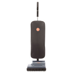 Hoover C1320 Commercial Lightweight Upright Vacuum, 9.4 Lbs, Black